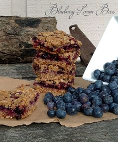 Blueberry Lemon Bars | www.takingonmagazines.com | These Blueberry Lemon Bars are the perfect welcome to summer. Sweet with a hint of tart and utterly delicious.