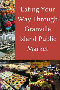 Granville Island Public Market is a treasure trove of all the very best things to eat. It's like a cross between a Trader Joe's, an old-world street market, and the best mall food court ever. You can find delicious food to eat right now and also something to take home for dinner. #vancouverbc #vancouvercanada #canada #candatourism #familyvacation #familytrip #familyfun #somewhereinparticular World Street, Granville Island, Food Court, Foods To Eat, Future Travel, Eat Right, Pacific Northwest, British Columbia, Old World