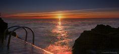 https://flic.kr/p/xQdgiQ | Sunrise over Sea, city of Antibes Juan Les Pins, French Riviera by Domi RCHX Photography | Lever du soleil sur la mer, ville d'Antibes Juan Les Pins, Côte d'Azur, FRANCE par Domi RCHX Photography