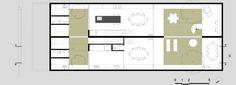 Imagem 23 de 27 da galeria de Casa Geminada  / CR2 Arquitetura. Planta