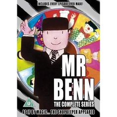MR BENN  And that shopkeeper was creepy!