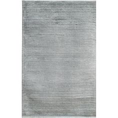 @Overstock.com - Hand-loomed Haiden Grey Wool Rug (5' x 8') - Hand-loomed of durable wool and beautiful viscose, this rug is eye catching and beautiful. A stunning shade of grey completes this area rug.  http://www.overstock.com/Home-Garden/Hand-loomed-Haiden-Grey-Wool-Rug-5-x-8/5493995/product.html?CID=214117 $207.25