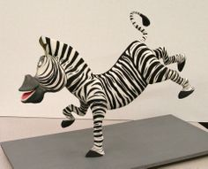 Zebra Marty, Madagascar Cake - by Mike's Amazing Cakes