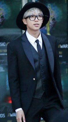 my sunshine - Namjoon + formal wear Everyone better stop...