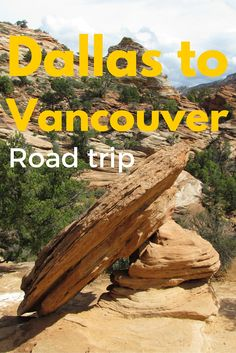 Adoration 4 Adventure's 15 day road trip from Dallas, TX to Vancouver, BC.  The ultimate road trip spanning 8 US States and 2 countries. Any portion of this itinerary could be used as inspiration for day trips, weekend getaways or your very own USA road trip.