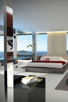 Millionaire Beach House- Luxury Bedroom w/a view- LadyLuxury