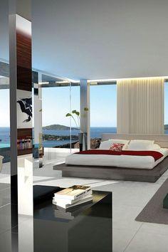 Millionaire Beach House- Luxury Bedroom w/a view- LadyLuxury