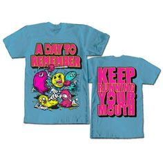 a day to remember pacman shirt - Google Search