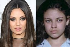 Aged 15 Mila Kunis played a young Angelina Jolie in the film Gia - and didn't she look the part - London Evening Standard