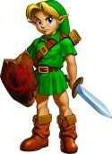 Link, Ocarina of Time (child)
