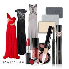 The real star on the red carpet last night? Embellishments! Bring out the best in your gemmed, studded, or sequined outfit with this shimmery look from Mary Kay. #CMAs