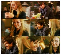 """AU Heartland: Amy and Ty meet at the bar """"The drink's not doing it for you? Amy And Ty Heartland, Heartland Quotes, Heartland Ranch, Heartland Seasons, Ty Et Amy, Cutest Couple Ever, Amber Marshall, Tv Couples, Young Love"""