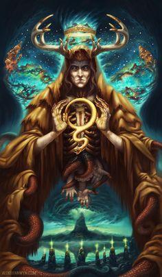 The Emperor Cthulu Mythos Tarot