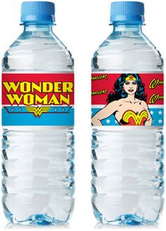 Wonder Woman Bottle Wrap PDF file by freaknsweet on Etsy, $3.00