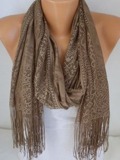 Tulle Scarf  Shawl Women Scarf  Cowl Scarf  by fatwoman,