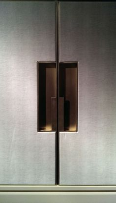 Our decorative and architectural hardware mirrors a clear vision of timeless beauty; Furniture Handles, Furniture Hardware, Plywood Furniture, Furniture Design, Brass Handles, Cabinet Handles, Door Handles, Wardrobe Handles, Joinery Details
