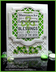 The Write Stuff | Shamrock Lattice | http://thewritestuff.justwritedesigns.com
