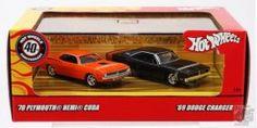 Hot Wheels kis és modellautók, pályák, pálya kiegészítők A játékautó 1968-ban született. Egy ötlettől vezérelve az akkori konkurens, a Matchbox modelljeinél jelentősen gyorsabban volt képes gurulni a pályán. Ezt áttervezett kerekeinek és tengelyének köszönhette. Az első évben (1968) 16 különböző modellt adtak ki, RedLine néven, ami a kerekekre festett piros csíkra utalt. #matchboxshop #hotwheels #hotwheelsvsarlas #modellautokhungary #progamershophungary #modellauto #automodellvasarlas Hot Wheels Cars, 40th Anniversary, Dodge Charger, Plymouth, Pop Culture, Chevrolet