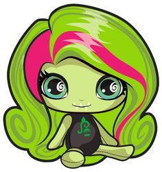 Venus McFlytrap. Monster High Mini. Beach Ghouls