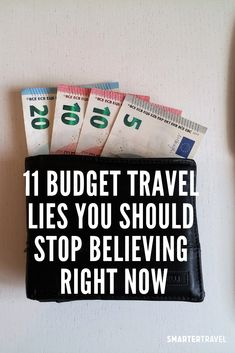 Myths You've Been Told about Budget Travel Travel Fund, Travel Dating, Saving Tips, Saving Money, Budget Travel, Travel Tips, Wow Air, Affordable Vacations