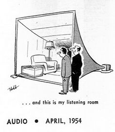 And this is my listening room Horn Speakers, Diy Speakers, High Fi, Retro Cartoons, Vintage Music, Loudspeaker, Audio Equipment, Audiophile, Car Audio