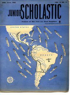 Junior Scholastic from April 1943