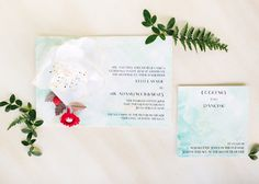 Oh So Beautiful Paper: Embroidery and Millinery Wedding Invitation Inspiration