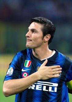 Javier Zanetti nel cuore !!!!SEMPRE E PER SEMPRE FORZA INTER!!!⚫⚫