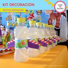 Toy Story: Kit decoración - Todo Bonito