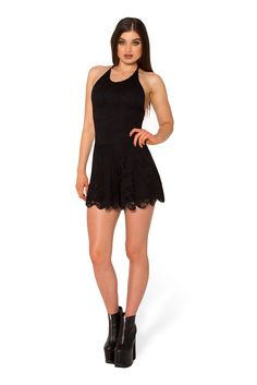 Once Upon A Time Black Playsuit (WW $99AUD / US $94USD) by Black Milk Clothing