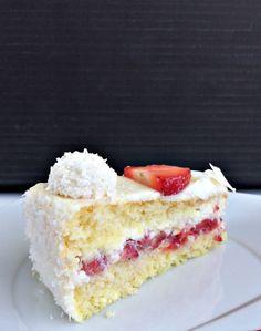 Rafaello Dessert, German Baking, Cake & Co, Best Cake Recipes, Little Cakes, Recipes From Heaven, Everyday Food, No Bake Cake, Vanilla Cake