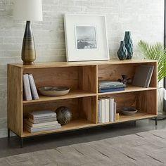 Walnut Brown Wood Ashlyn Bookshelf Stains Dark Brown And Keepsakes - Wide bookshelves