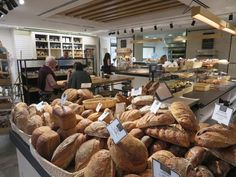 La Boulangerie at the chic Sarona Market in northern Tel Aviv Israel ! #tlv #telaviv #Israel @IsraelTourism