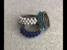 Hugs and Kisses Beaded Ring Tutorial - JEWELRY AND TRINKETS - I'm so excited I am Craftster's best of Alright back to what I came here for this is my newest video tutorial. Diy Jewelry Rings, Diy Jewelry Tutorials, Beaded Rings, Beading Tutorials, Wire Jewelry, Jewelry Crafts, Beaded Bracelets, Hippie Jewelry, Jewelry Ideas
