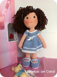 Ana, nueva muñeca de ganchillo ♡
