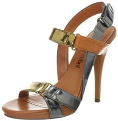 Luxury Rebel Women's Jaz Sandal, Bronze/Pewter, 38 EU/8 M US Luxury Rebel. $125.00