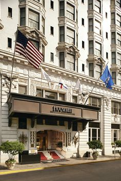 The Roosevelt Way entrance to the famous Roosevelt New Orleans, A Waldorf Astoria Hotel Hotel Design Architecture, Astoria Hotel, Central Business District, Waldorf Astoria, Roosevelt, Hotels And Resorts, Louisiana, New Orleans, Classic Style