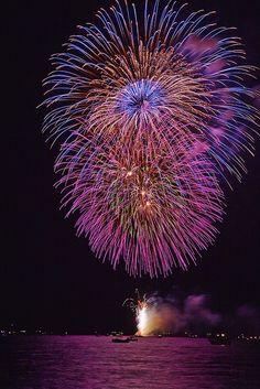 Cherry Festival #firework nail art| http://fireworkscake.lemoncoin.org