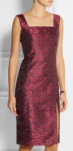 Jennifer Satin-jacquard Dress