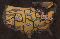 panem | Obraz - Hunger-games-panem-map.jpg – Igrzyska Śmierci Wiki