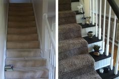 Merveilleux Bead Board Risers Sweeten This Stairway. Staircase MakeoverStaircase  RemodelStaircase IdeasWhite ...