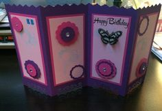 Screen card for EB's 59th birthday.