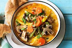 Curry mit Ofengemüse,