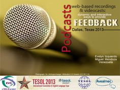podcasting-web-based-recorders-and-videocasts-interactive-feedback by Evelyn Izquierdo via Slideshare