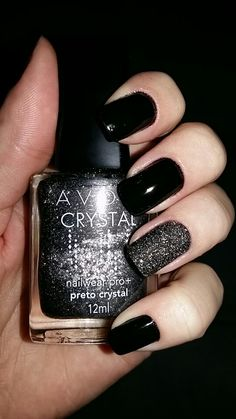 Avon Black + Preto Crystal