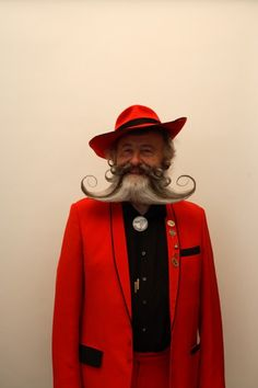 The world beard and moustache championships by Luke Stephenson