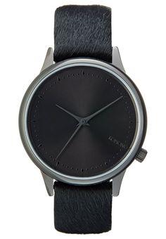 Diese Uhr ist ein echtes Fashion-Highlight! Komono ESTELLE MONTE CARLO PONY - Uhr - black/black für 71,95 € (14.06.16) versandkostenfrei bei Zalando bestellen.