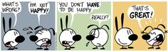funny comic happiness secret