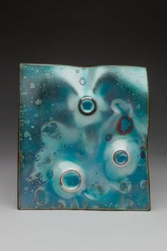 Would be a beautiful piece to wear - Christine Finch | Northern California Enamel Guild