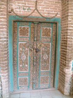 Door - Esfahan, Iran